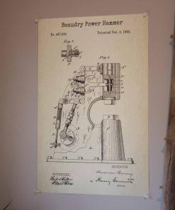 Power Hammer Poster
