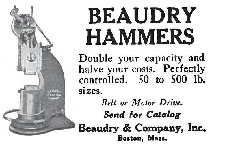 Beaudry Power Hammer Catalog