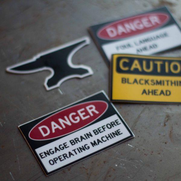 Blacksmith Stickers